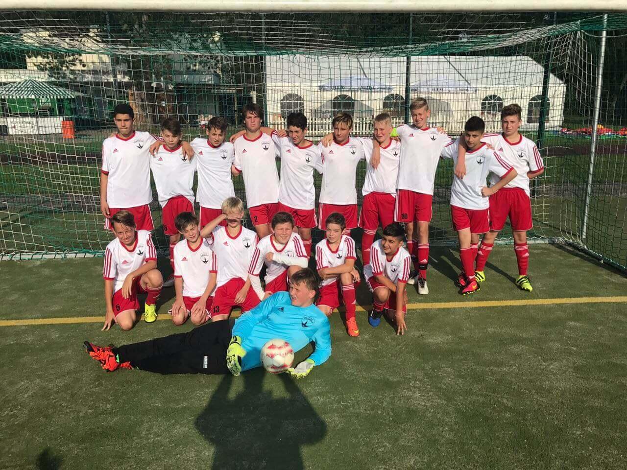 Post TSV Detmold - C-Junioren Mannschaftsbild