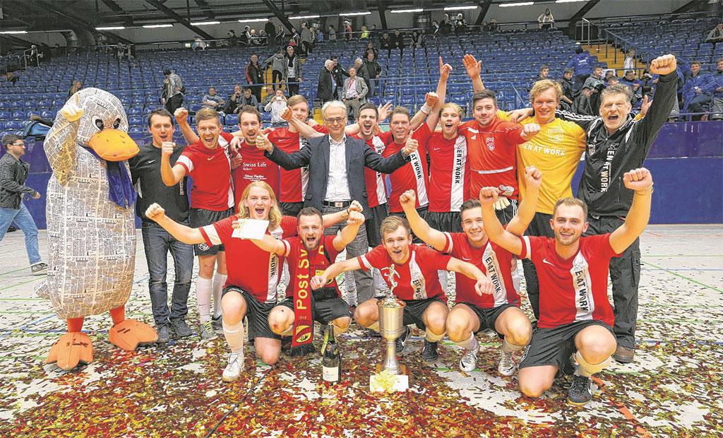 LZ Cup Sieger 2014/15 1. Mannschaft POST TSV Detmold