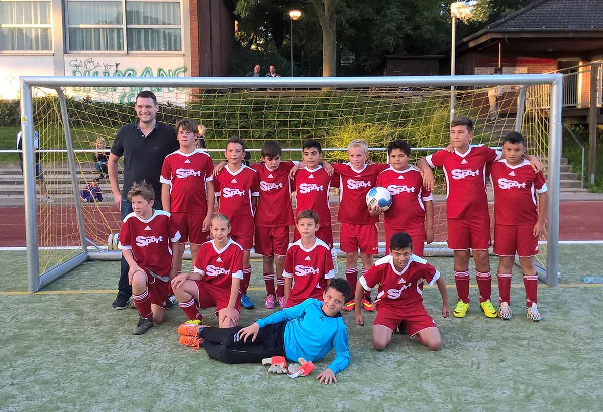 D1 Junioren Mannschaftsfoto POST TSV Detmold e.V.