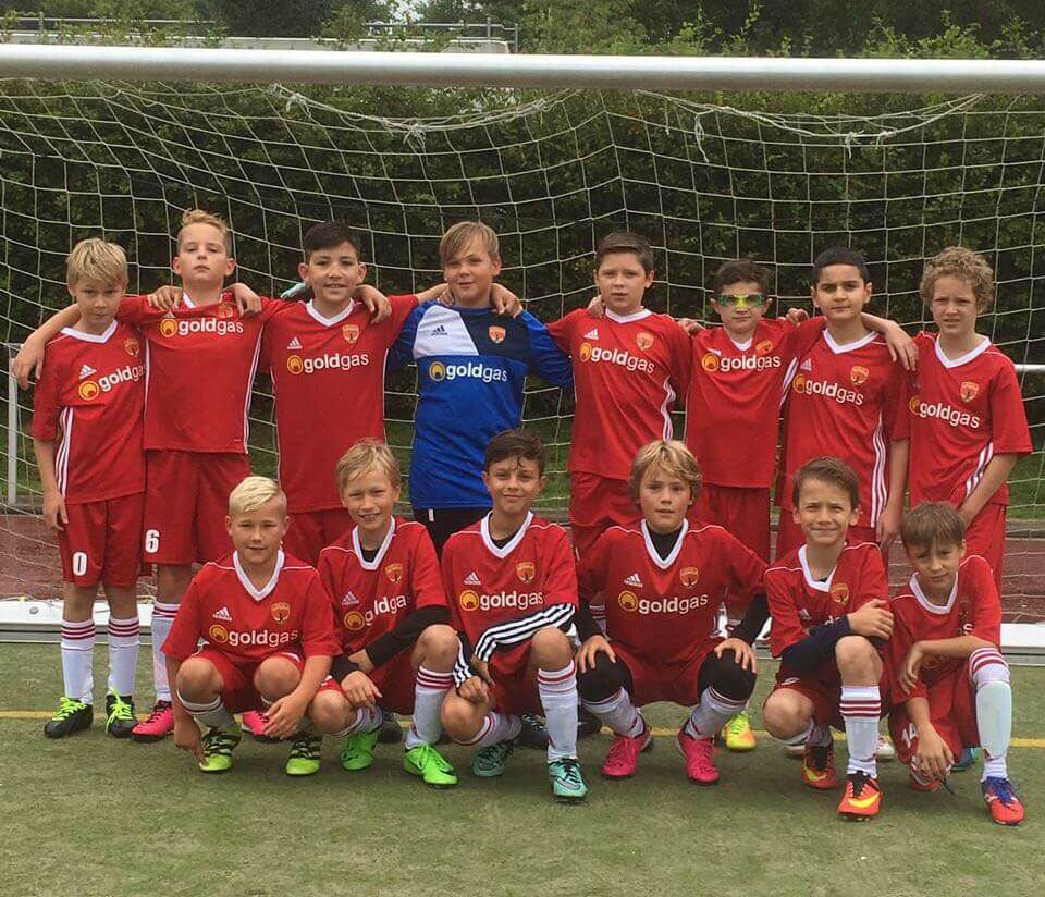 Mannschaftsbild D2 Junioren Post TSV Detmold