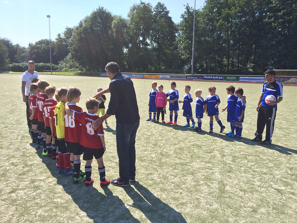 F1 Junioren Post TSV Detmold vs. SC Augustdorf