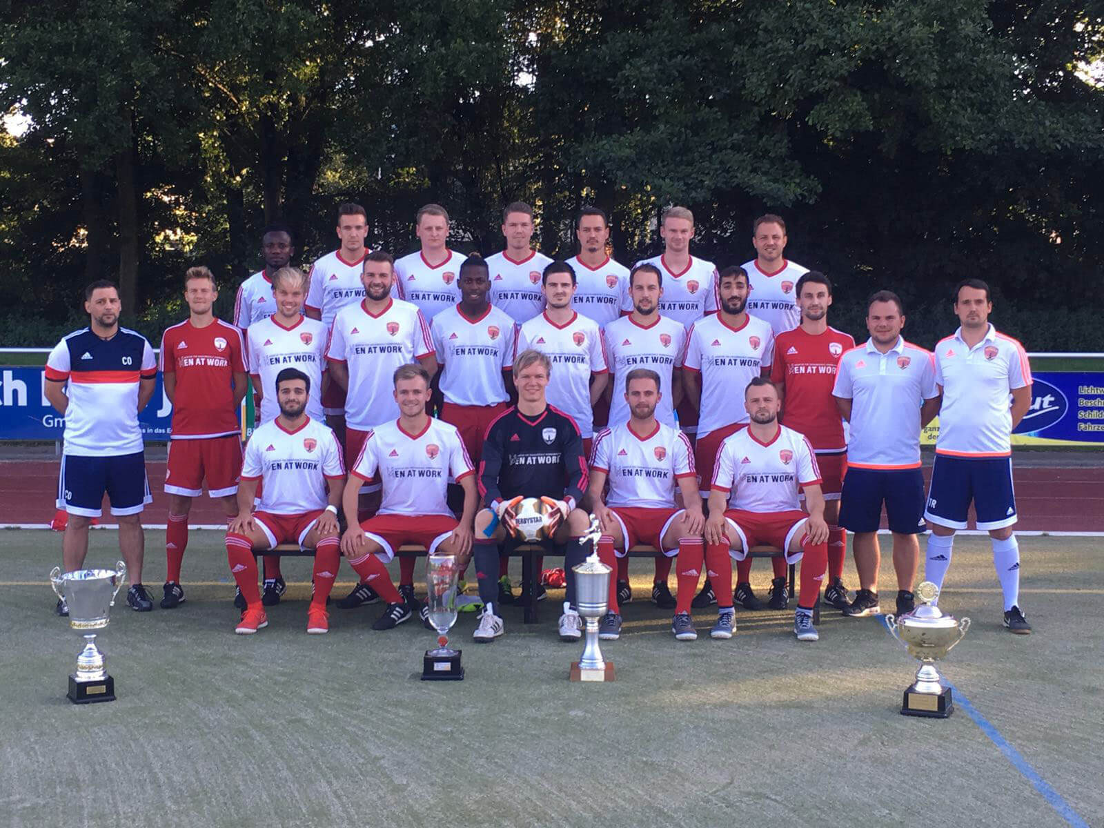 Post TSV Detmold 1. Mannschaft 2016/17