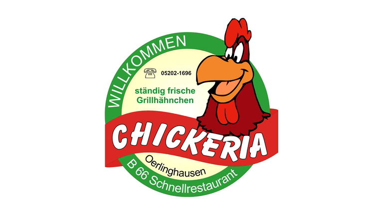 Chickeria Schnellrestaurant Oerlinghausen - Sponsoren Logo POST TSV Detmold e.V.