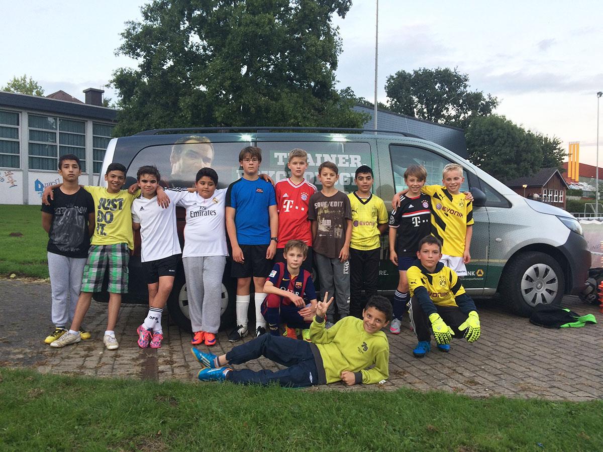 DFB Mobil POST TSV Detmold - D Junioren Auswahl