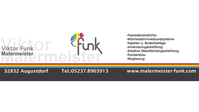 Malermeister Funk - Sponsoren Logo POST TSV Detmold e.V.
