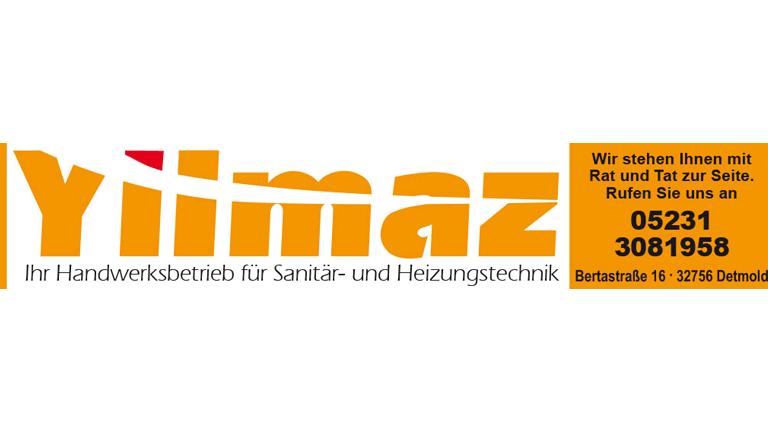 Yilmaz Heizung Sanitär Detmold - Sponsoren Logo POST TSV Detmold e.V.
