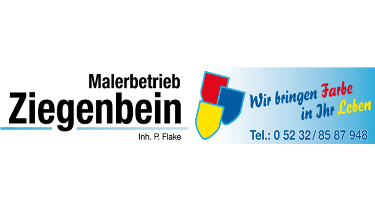 Malermeister Ziegenbein - Sponsoren Logo POST TSV Detmold e.V.