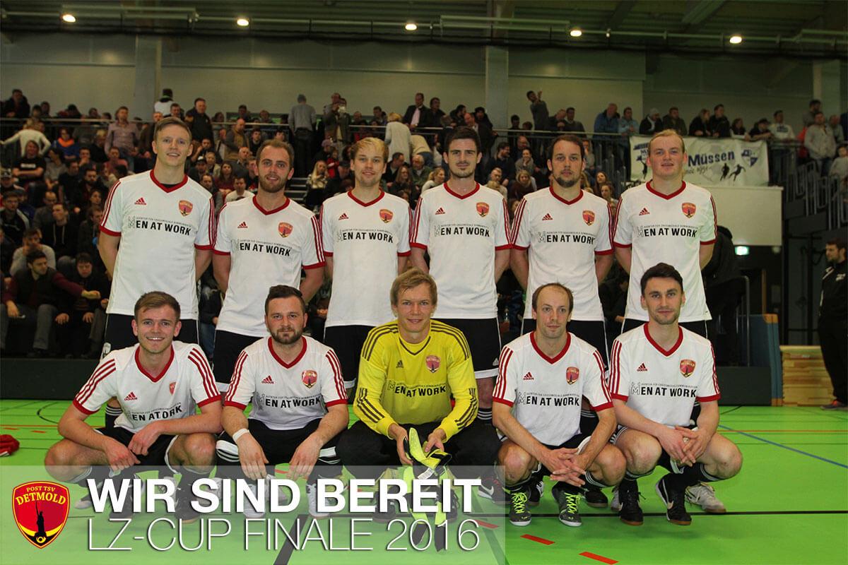 POST TSV Detmold e.V. - LZ Cup 2016 - Titelverteidung - Mannschaftsbild Zwischenrunde LZ Cup