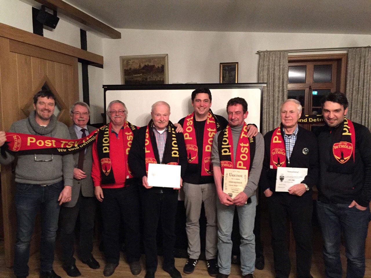 POST TSV Detmold - Jahreshauptversammlung Mai 2016