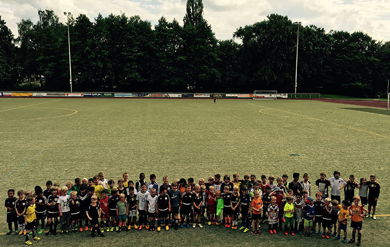 Abschlusstraining der Juniorenmannschaften des Post TSV Detmold e.V.