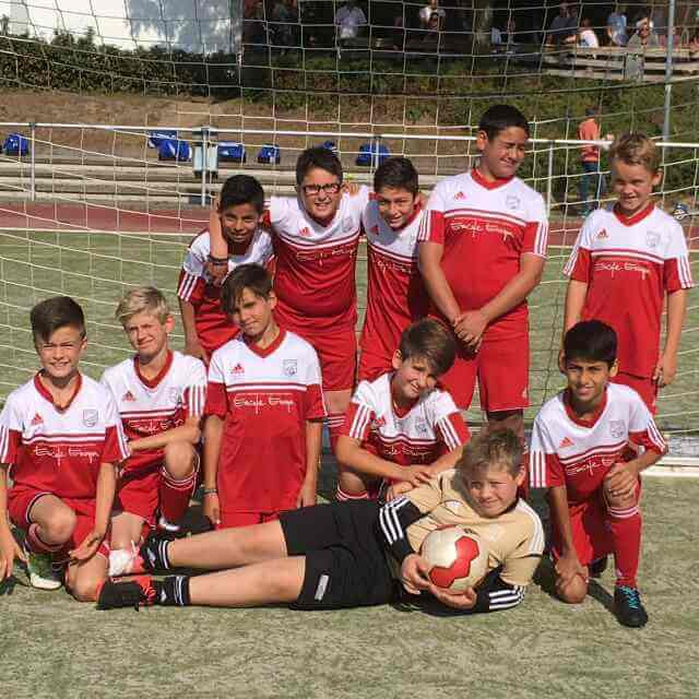 D1 Junioren Mannschaftsbild - Post TSV Detmold