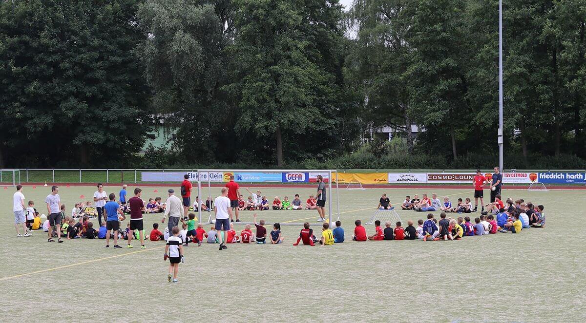 Post TSV Detmold Hallenzeiten Jugendmannschaften Saison 2017 / 2018