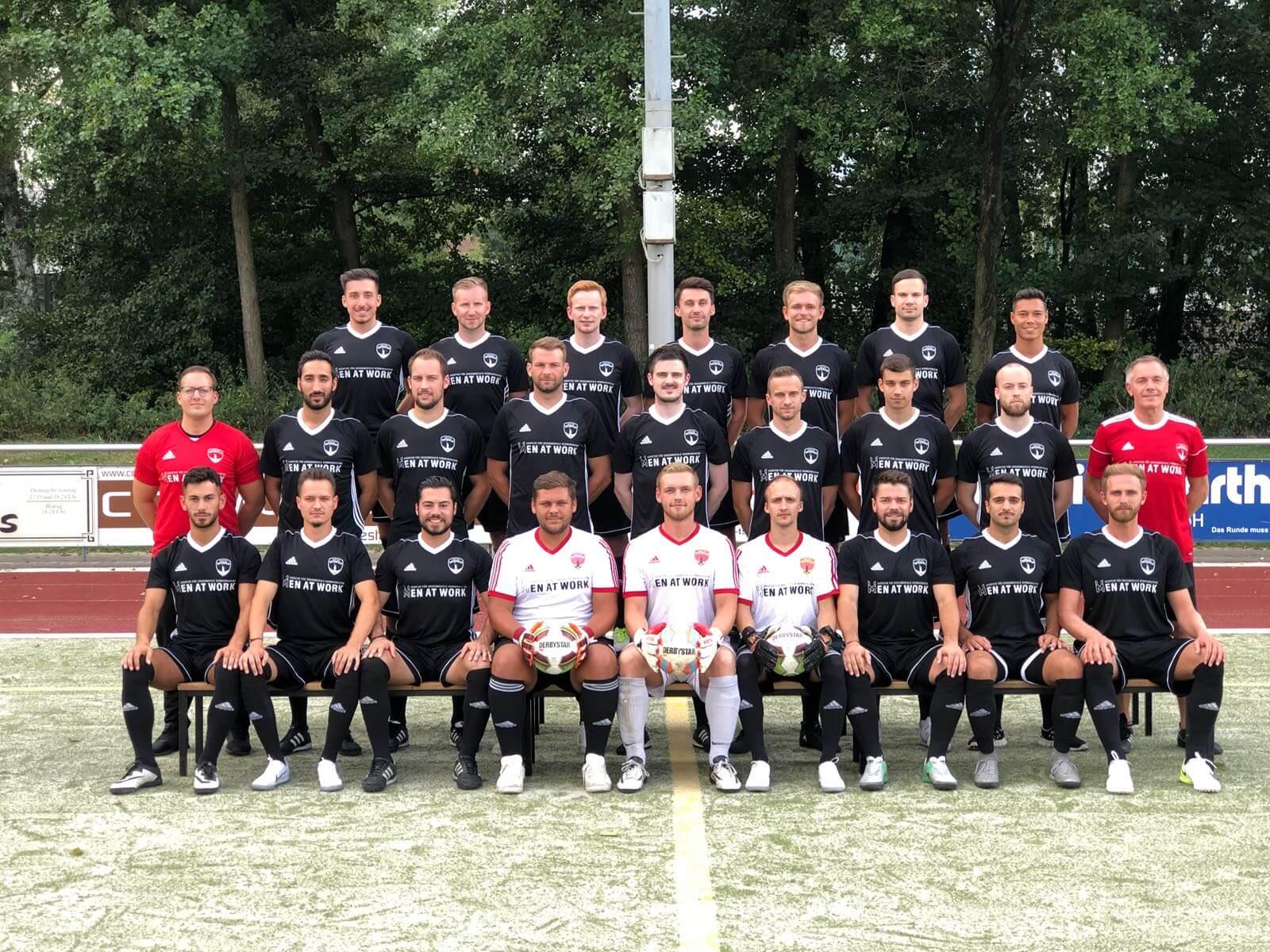 Post TSV Detmold 1. Mannschaft Bezirksliga Westfalen Staffel 2 - Mannschaftsfoto 2017/2018