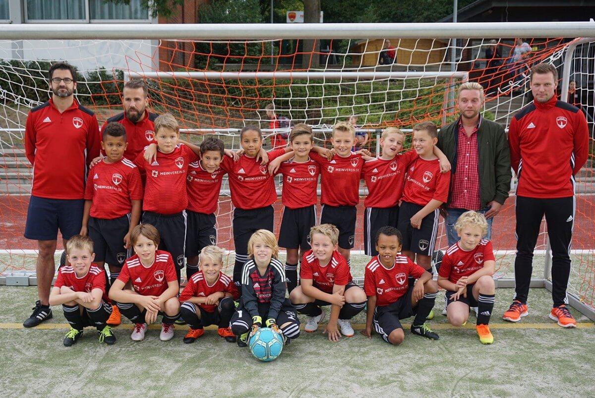 Mannschaftsfoto 2018/2019 E2 - Post TSV Detmold