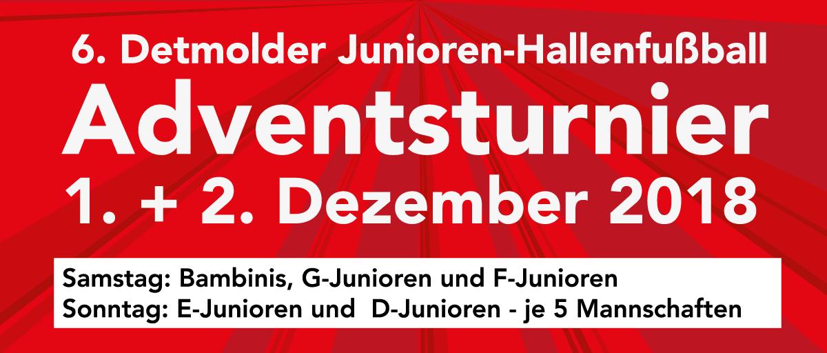 Post TSV Detmold Junioren Hallenfußball Adventsturnier 2018