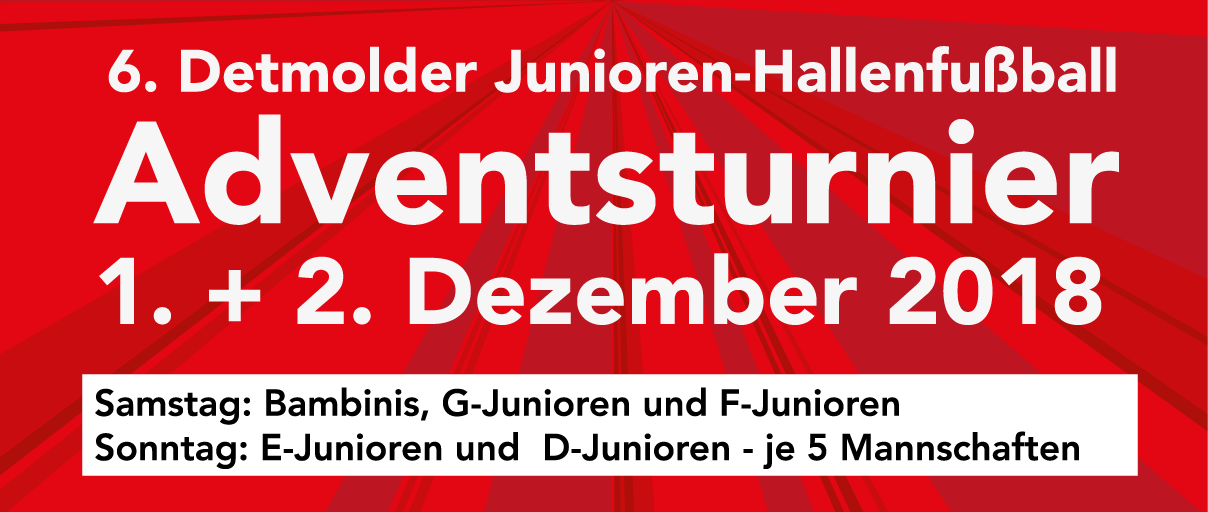 Post TSV Detmold Junioren Hallenfußball Adventsturnier 2018