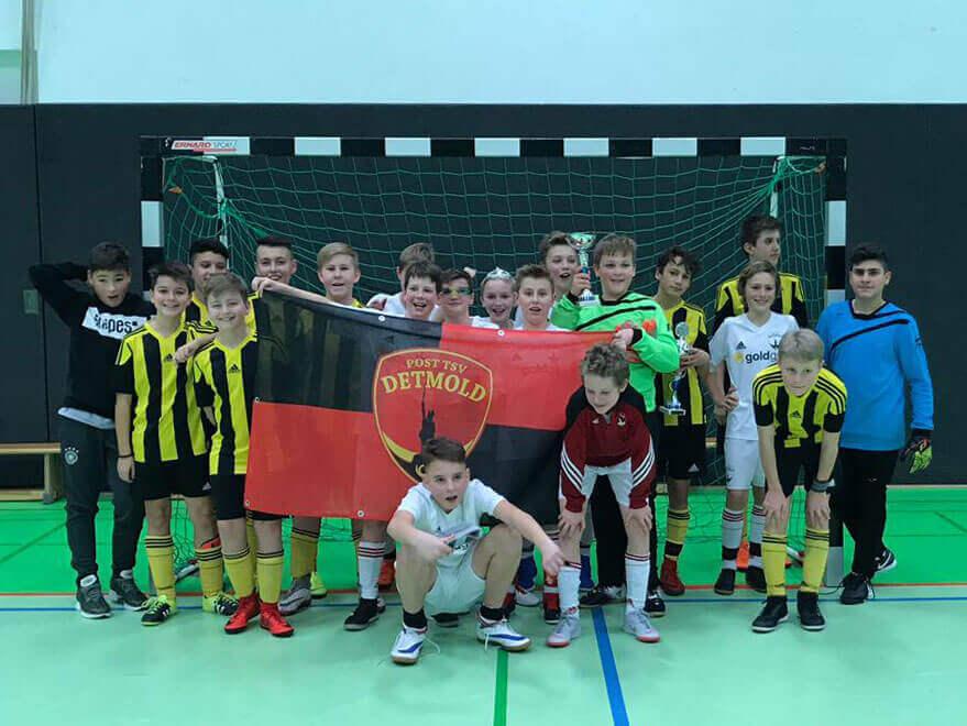 Post TSV Detmold D-Jugend - Stadtmeister 2018/19